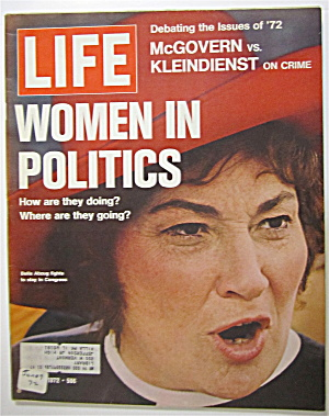 Life Magazine June 9, 1972 Women In Politics (Image1)