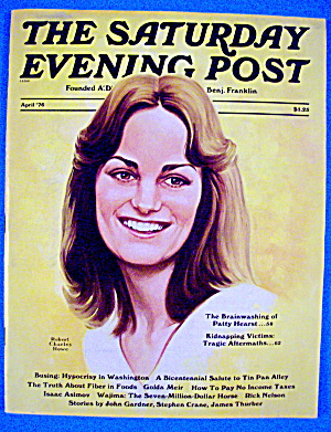 Saturday Evening Post Magazine April 1976 Patty Hearst (Image1)