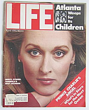 Life Magazine April 1981 Actress Meryl Streep (Image1)