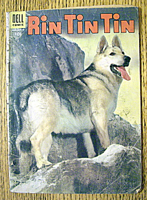 Rin Tin TIn #9 August 1955 Lucky Piece Pay Off (Image1)