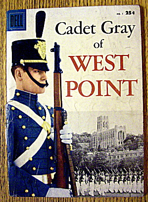 Cadet Gray Of West Point Comic #1 April 1958 (Image1)