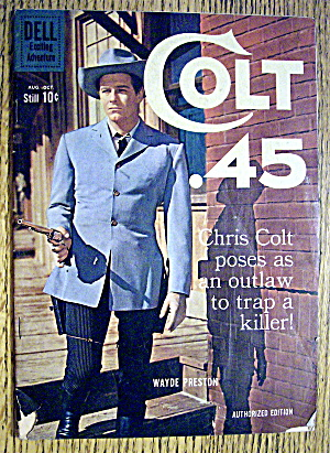 Colt 45 Comic #6 August-October 1960 Chris Colt (Image1)