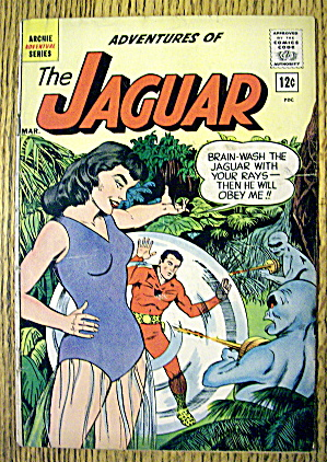 The Jaguar Comic #5 March 1962 Death Ray From Space