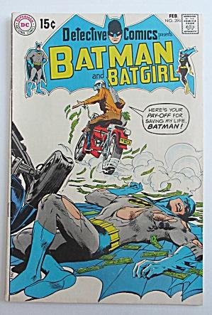 Batman & Batgirl Comic February 1970 Brain Pickers  (Image1)