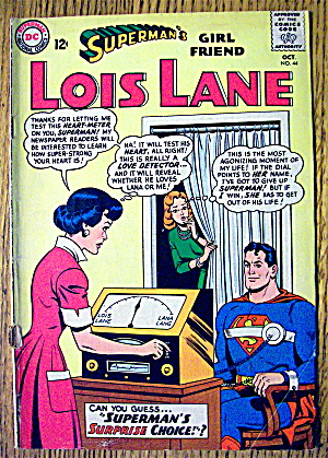 Superman's Lois Lane Comic #44 October 1963 Lana Lang