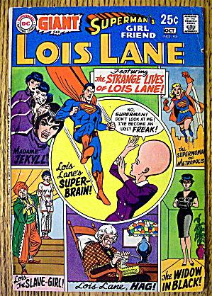 Superman's Girl Friend Lois Lane Comic #95 October 1969 (Image1)