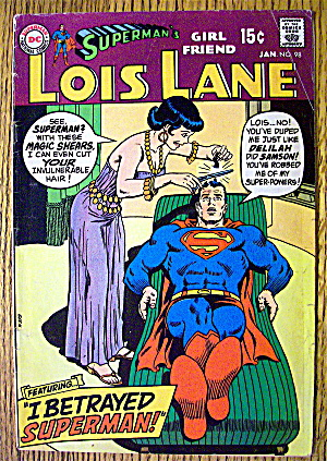 Superman's Girl Friend Lois Lane #98 January 1970