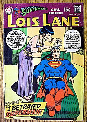 Superman's Girl Friend Lois Lane #98 January 1970 (Image1)