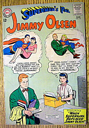 Superman's Pal Jimmy Olsen #75 March 1964 Convict 313