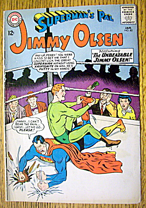 Superman's Pal Jimmy Olsen #82 January 1965 Magic Glove (Image1)