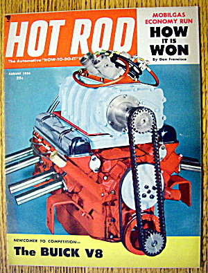 Hot Rod Magazine August 1954 The Buick V8