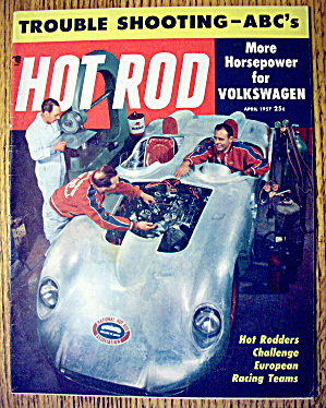 Hot Rod Magazine April 1957 Trouble Shooting-abc's