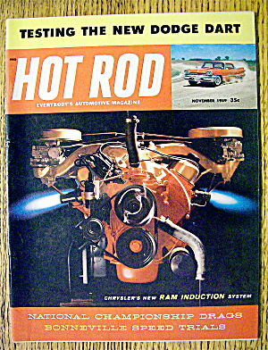 Hot Rod Magazine November 1959 The New Dodge Dart
