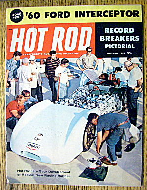 Hot Rod Magazine December 1959 Record Breakers