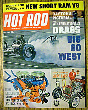 Hot Rod Magazine May 1962 Drags Big Go West (Image1)