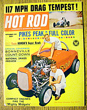 Hot Rod Magazine September 1962 Mighty Midgets (Image1)