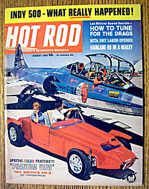 Hot Rod Magazine August 1963 How To Tune Drags