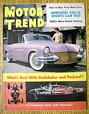 Motor Trend Magazine July 1956 How To Buy Next Tire