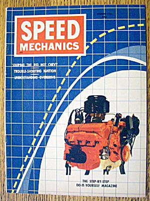 Speed Mechanics December 1955 Souping The Red Hot Chevy