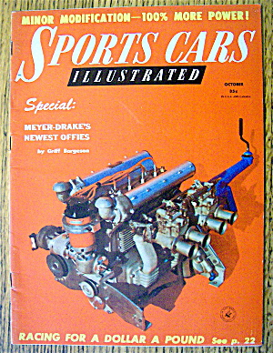 Sports Cars Illustrated Magazine October 1956 Racing