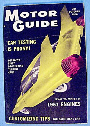 Motor Guide October 1956 Customizing Tips & Car Testing