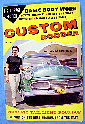 Custom Rodder July 1959 Basic Body Work