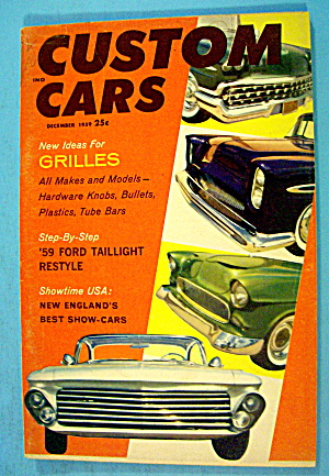 Custom Cars December 1959 New Ideas For Grilles