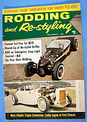 Rodding And Re-styling December 1956 Custom Tail Fins