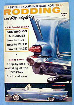 Rodding And Re-styling November 1959 Karting On Budget