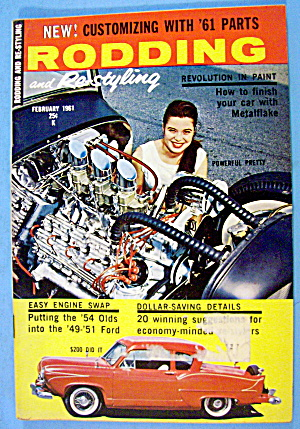 Rodding And Re-styling February 1961 Easy Engine Swap