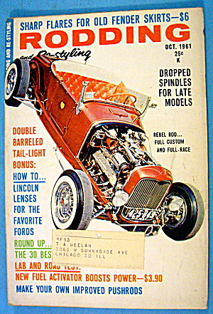 Rodding And Re-styling October 1961 Dropped Spindles