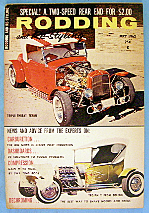 Rodding And Re-styling May 1962 Triple Threat Texan