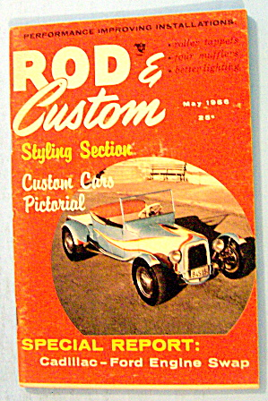 Rod & Custom May 1956 Custom Cars Pictorial
