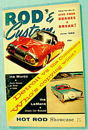 Rod & Custom June 1956 Hot Rod Showcase