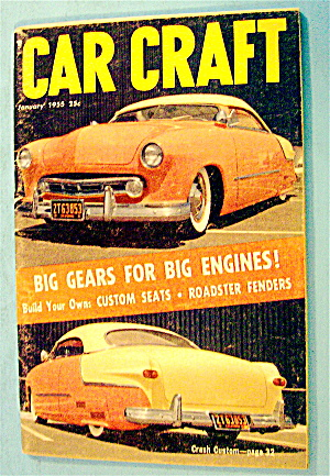 Car Craft January 1955 Big Gears For Big Engines (Image1)
