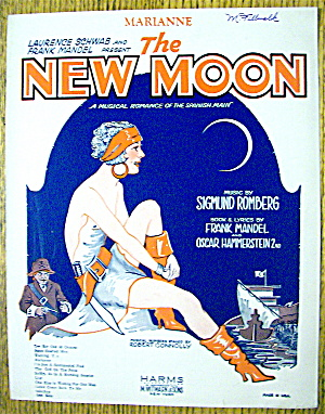 1928 Marianne By Sigmund Romberg (The New Moon)