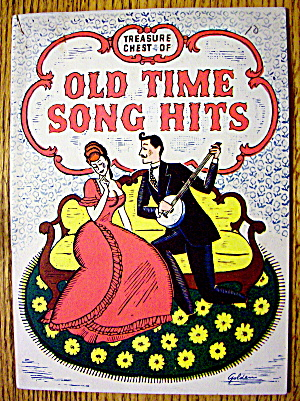 1935 Treasure Chest Of Old Time Song Hits Booklet