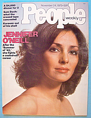 People Magazine November 24, 1975 Jennifer O'neill
