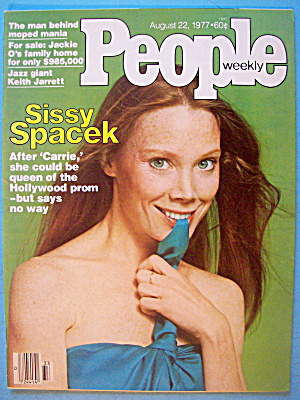People Magazine August 22, 1977 Sissy Spacek