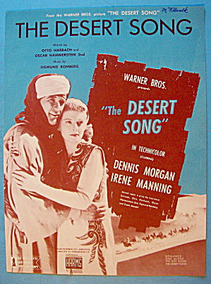 The Desert Song 1926 Habbach & Hammerstein