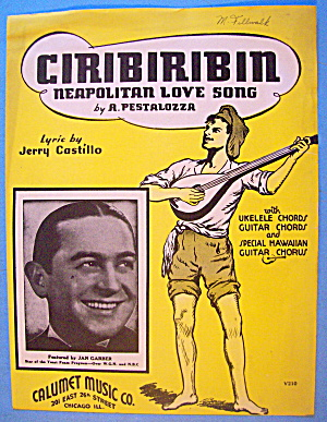 Ciribiribin 1935 A Pestalozza (Neapolitan Love Song)