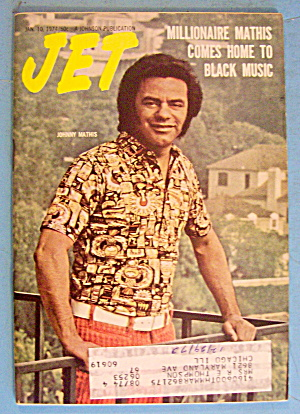 Jet Magazine January 10, 1974 Johnny Mathis