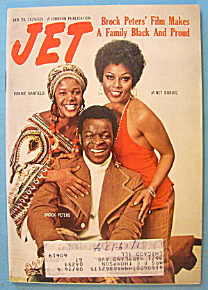 Jet Magazine January 24, 1974 Brock Peters Film