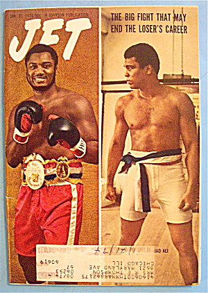 Jet Magazine January 31, 1974 Big Fight: Joe Vs. Ali