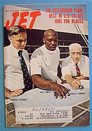 Jet Magazine November 7, 1974 Jobs For Blacks