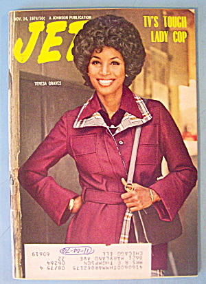 Jet Magazine November 14, 1974 Tv's Tough Lady Cop