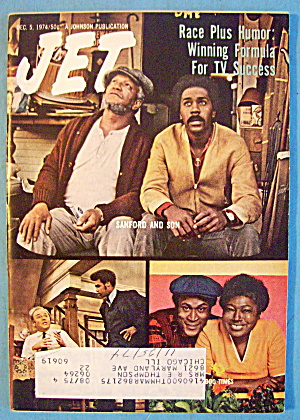 Jet Magazine December 5, 1974 Race Plus Humor: Tv