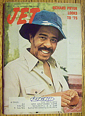 Jet Magazine January 9, 1975 Richard Pryor