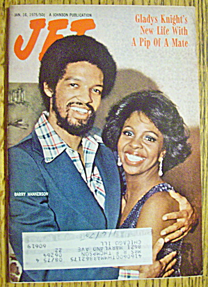 Jet Magazine January 16, 1975 Barry Hankerson & Gladys