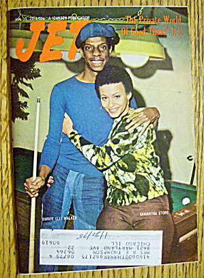 Jet Magazine January 30, 1975 Jimmie Walker (Jj Evans)
